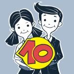 Логото за Група на 10 клас